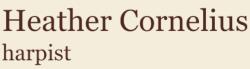 Heather Cornelius, Harpist Logo